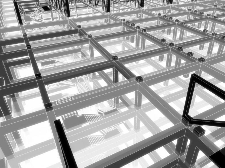architektur, struktur