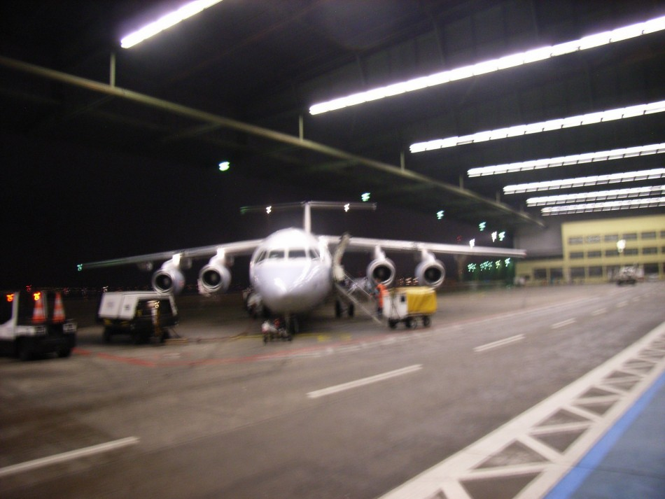 My plane to BXL