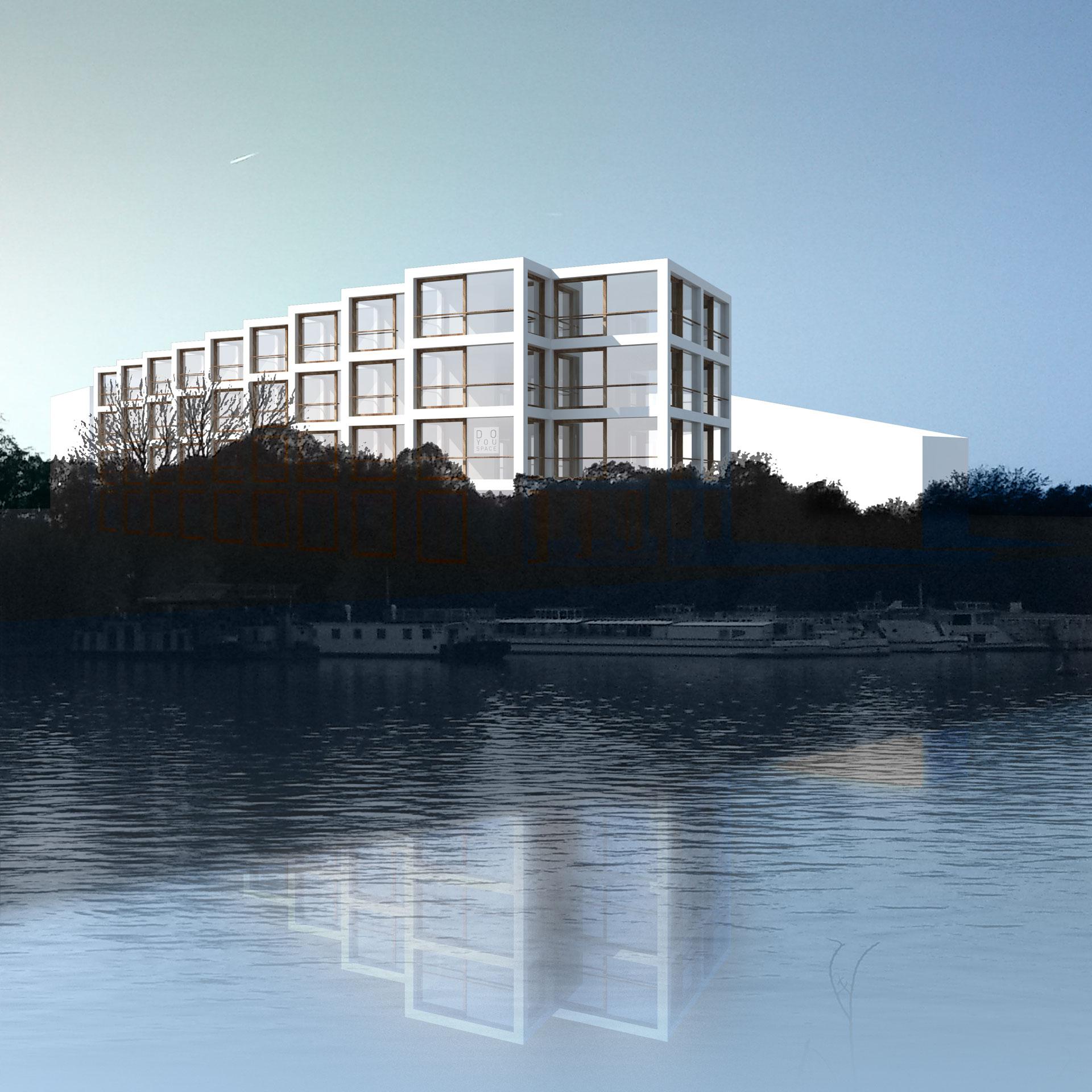 doyouspaceriverside housing on the spree - doyouspace, Innenarchitektur ideen