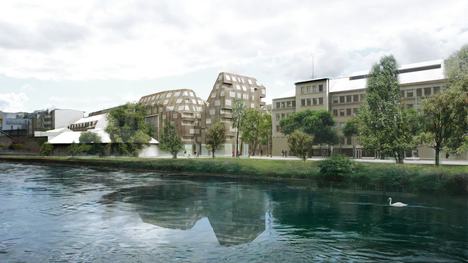 Doyouspacesustainable housing geneva phase 2 doyouspace for Construction piscine geneve