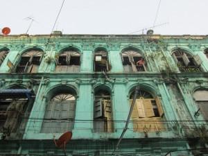 Yangon, colonial housing
